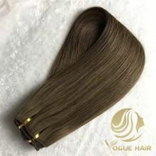 150 gramos de extensiones de cabello de trama de máquina de encaje