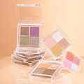 2021 nova sombra de 4 cores à prova d'água e fácil de maquiar