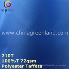 PU Polyester Waterproof Coating Fabric for Raincoat Jacket (GLLML270)
