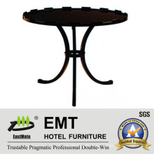 Table à café à pied courbée ronde design artistique 2016 (EMT-CT07)