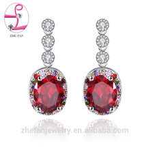 jewelry zhefan mini order china manufacturer 15 years jewelry wholesale cubic zirconia earrings