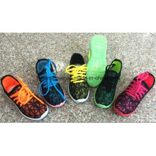 Индивидуальные Детские Ботинки Холстины Впрыски, Полный Цвет Бездельник Обувь, Повседневная Обувь