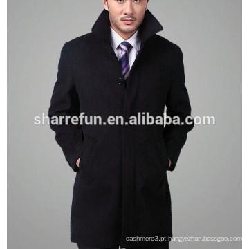 2016 nova moda casaco de lã de cashmere