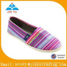 Casual chica zapatos espadrilla mujeres nuevo estilo