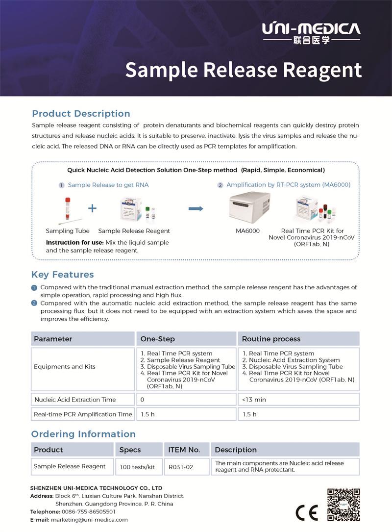 Sample Release Reagent