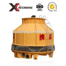 FRP mini PVC / PP torre de resfriamento de água industrial material