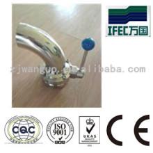 Vanne de qualité alimentaire en acier inoxydable sanitaire (IFEC-GV100012)