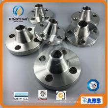 Brida forjada del cuello de la soldadura del reborde del acero inoxidable (KT0374)