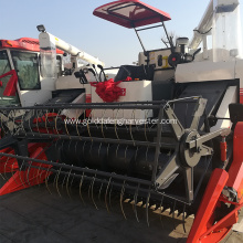 threshing clean rice harvester high ground clearance