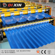 Rollo de acero hidráulico del color Rollo de doble capa que forma la máquina