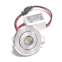 high quality 1w recessed led down light 110v