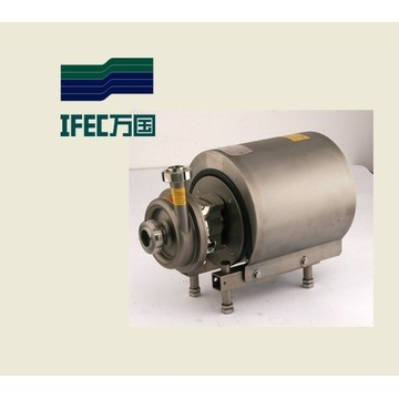 Bomba centrífuga sanitaria de acero inoxidable (IFEC-SP100001)