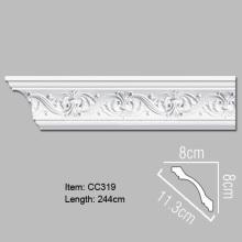 Pu Foam Decorative Cornice Moulding