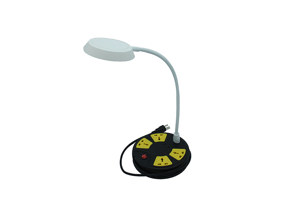 LED Lamp 4 Way Electric Socket