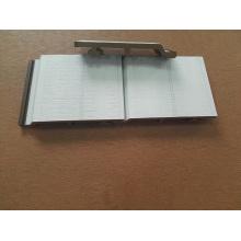 Revestimiento de pared compuesto de madera WPC de color blanco