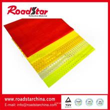 Hoja reflectante de PVC prismáticos Micro con superficie especial