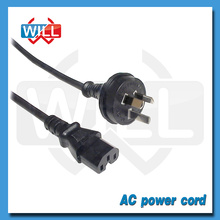 SAA high quality australia extension power cord with IEC plug