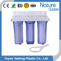3 Stage Water Bottle with Filter for Home and Hotel Use