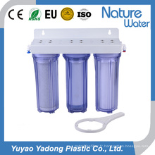 Bouteille d'eau de 3 étapes avec le filtre pour l'usage de maison et d'hôtel
