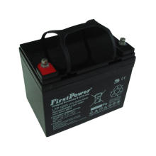 Резерв глубокого цикла батареи 12V33AH батарея телекоммуникаций