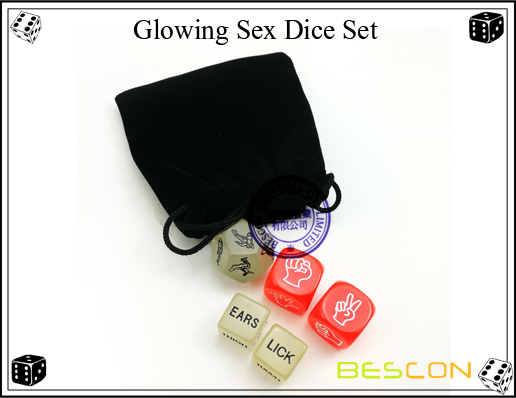 Glowing Sex Dice Set-5