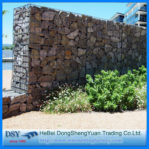 Welded Gabion Retaining Wall