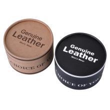 High quality luxury men belt packaging round gift box