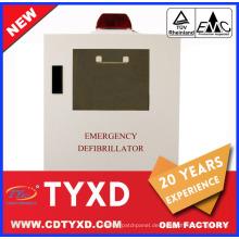 2017 neue erste hilfe aed defibrillator schrank für AED