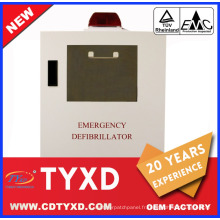 2017 Nouvelle armoire de défibrillateur de premiers soins pour AED