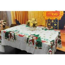 Natal design impresso 300D mini matt tecido para pano de mesa