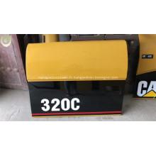 Pièces de rechange de rechange de portes latérales d'excavatrice de CAT Caterpillar 320C