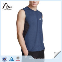 100 Polyester Sports Run Wear Tank Top Men