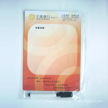 Custom Sun Shaped Rubber Memo Pad Decorating Freezer Fridge Magnet
