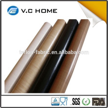 Qualified PTFE coated fiberglass fabric for sack-making machine