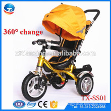 New Kids Fashion Abs Material Cheap Price Baby Stroller Kids Stroller Taga Bike Beisier Bike/Children Tricycle With Trailer