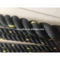Nylon cubierto crossfit gimnasio entrenamiento poder batalla cuerdas