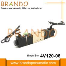 1/8'' 4V120-06 5/2 Pneumatic Directional Control Valve 12VDC