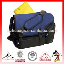 Мужская холст сумка водонепроницаемый пеленки мешок с Съемный ремень посланник(ЭС-Z361)