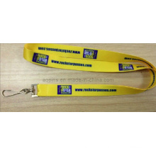 Heat Transfer Printed Lanyard with Metal Clip