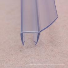 SGS PVC-Dichtungsstreifen für Tür aus gehärtetem Glas