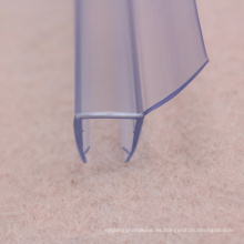 SGS PVC Sealing Strip para puerta de vidrio templado