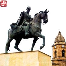 2016 Новая современная бронзовая фигура Скульптура Высокое качество Мода Городская статуя Бронзовая портретная скульптура для сада
