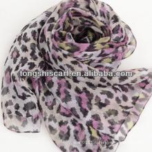 мода леди японский шелковый шарф