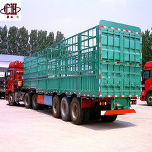 3 Axle Fence Grid Position Semi Trailer