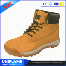 High Quality Stylish Nubuck Leather Safety Work Shoes