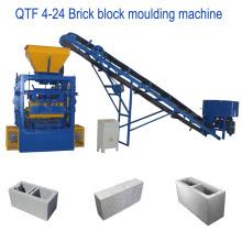 QT4-24 melhor venda de moldagem por vibração de concreto máquina de moldagem de tijolos sólidos