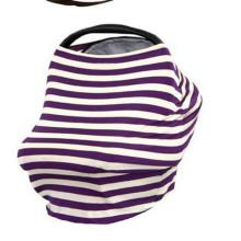 Lenço de amamentação amigável do algodão da pele segura do bebê & tampa da amamentação