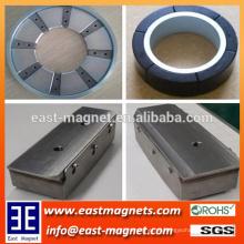 Custom feito Permanent Neodymium NdFeB Ímã montagem para Indústria / anel ou bloco de montagem para construção ou motor
