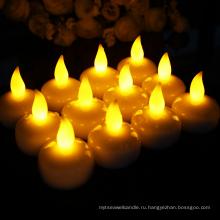 Беспламенная плавающая свеча Электронная свеча