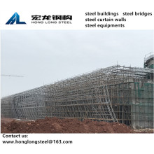 Seamless Pipe Truss Structure Bus Station